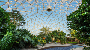 Living with the Land attraction and greenhouse at Walt Disney World