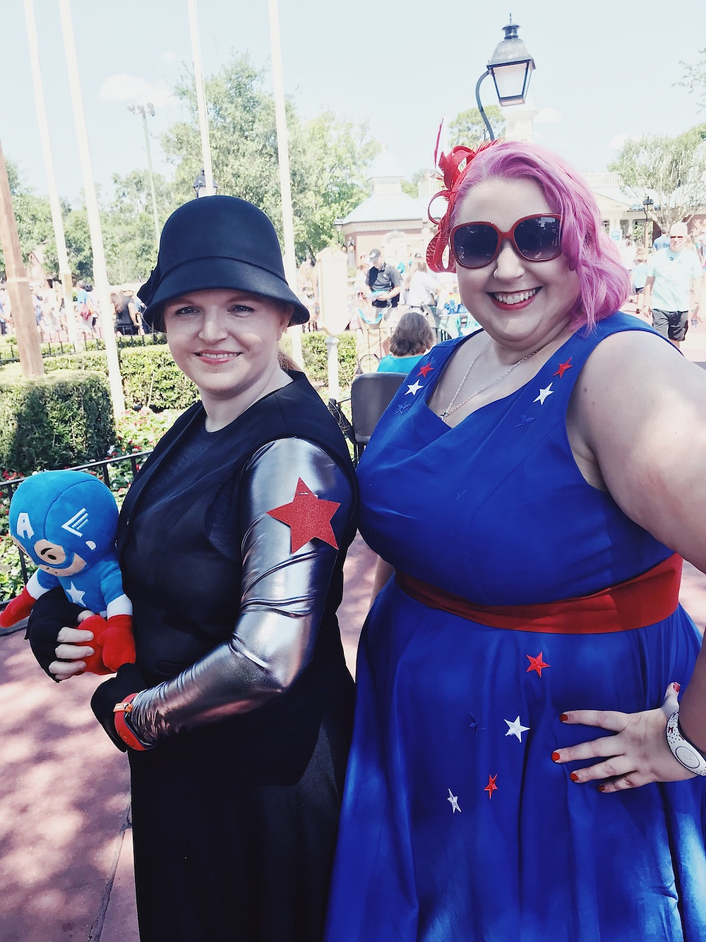 Misti Michelle Captain America Dapper Day