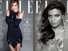 Zooey Deschanel, Mindy Kaling, Amy Poehler & Allison Williams Cover ELLE's Women in TV Is