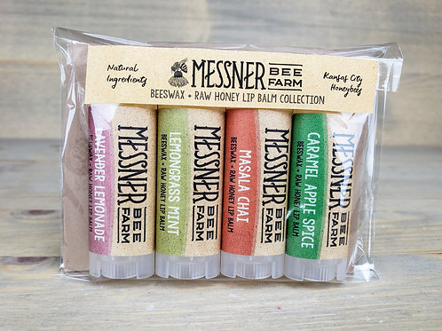 Pack of 4 - Herbals + Spices Lip Balms (5 sets)