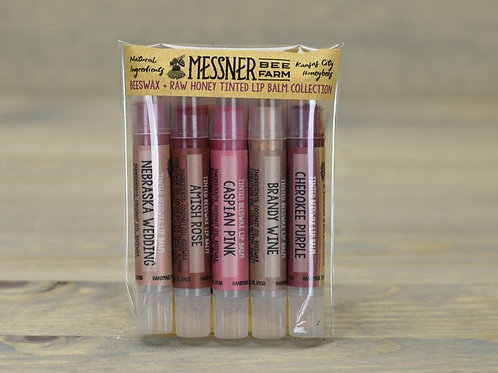 Pack of 5 - Lip Tints *4 sets*  (wholesale $12.50 ea, retail $20-$25 ea)