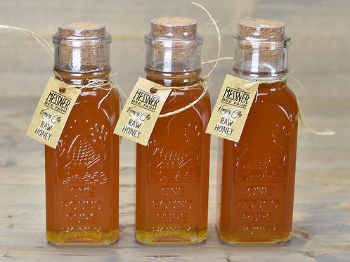 16oz Raw Honey (12 Bottles, wholesale $10ea - Retail $18ea)