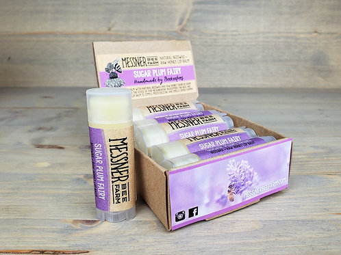 Sugar Plum Fairy Lip Balm Box of 12  (wholesale $2.50 ea, retail $5.00 ea