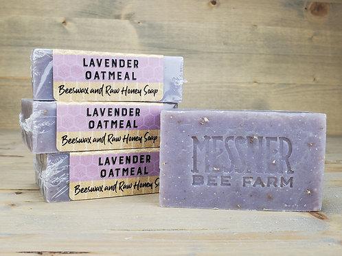 Lavender and Oatmeal Soap (6 soaps, wholesale $4ea - Retail $8ea)