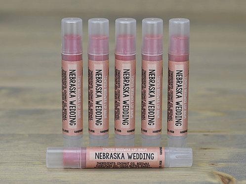Nebraska Wedding Lip Tint Box of 15  (wholesale $2.50 each, retail $5.00 ea)