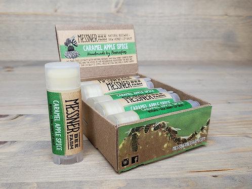 Caramel Apple Spice Lip Balm Box of 12  (wholesale $2.50 ea, retail $5.00 ea)