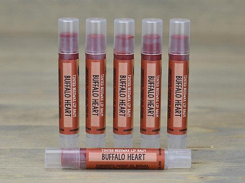 Buffalo Heart Lip Tint Box of 15 (wholesale $2.50 each, retail $5.00 ea)