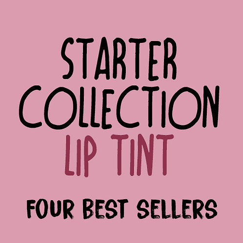 Lip Tint Starter Pack - 4 Boxes of 15  (wholesale $2.50 ea, retail $5.00 ea)
