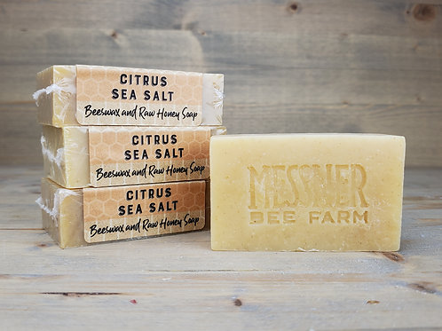 Citrus Sea Salt Soap (6 soaps, wholesale $4ea - Retail $8ea)