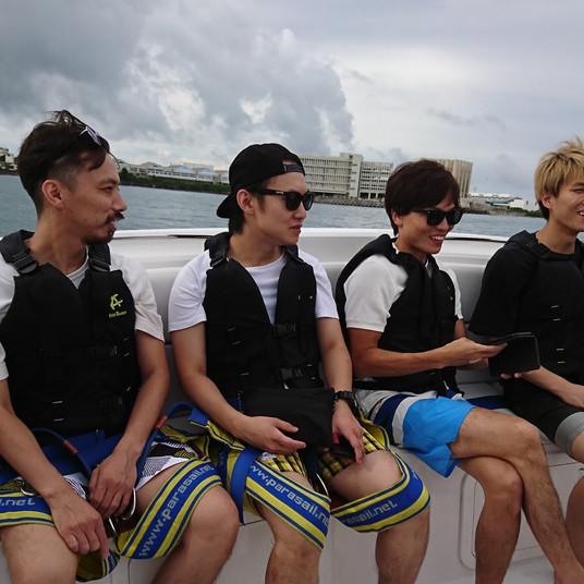 沖縄での一枚