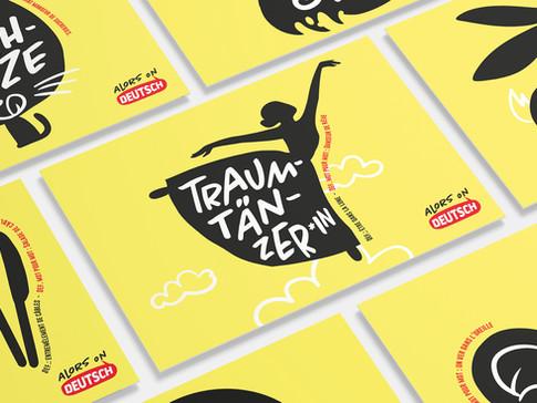 Pratiquer l'allemand avec des cartes postales originales!