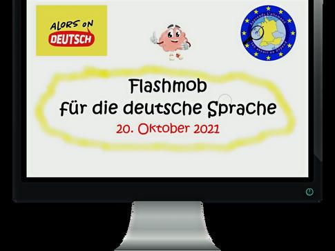Un flash mob pour la langue allemande