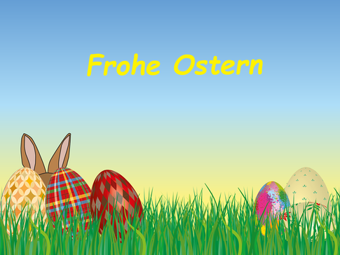 Der wallonische Osterhase... ist kein Angsthase - Frohe Ostern!