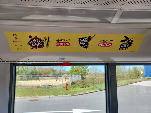 L'allemand dans les bus TEC  - Deutsch in den TEC-Bussen