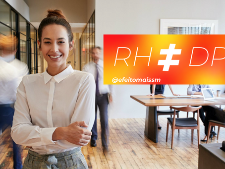 Entenda qual a diferença entre o profissional de RH e o DP: