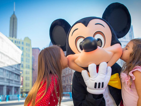 A excelência do atendimento Disney