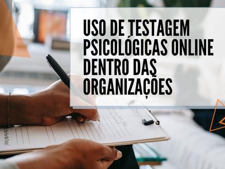 Uso de testagens psicológicas online dentro das organizações