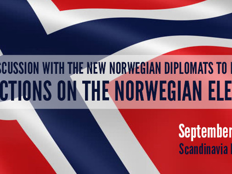 Panel Discussion: Reflections on the Norwegian Election, September 12