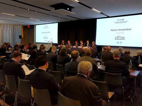 Summary and articles: 24th HACC/NACC Shipping Conference, February 13, 2018