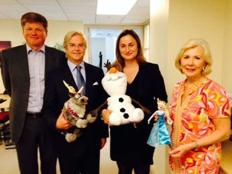 State Secretary of the Norwegian Ministry of Industry, Trade and Fisheries, met with NACC and IN