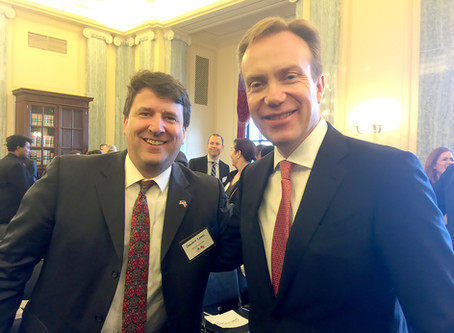 NACC National President, Giacomo Landi, met with Norway's Minister of Foreign Affairs