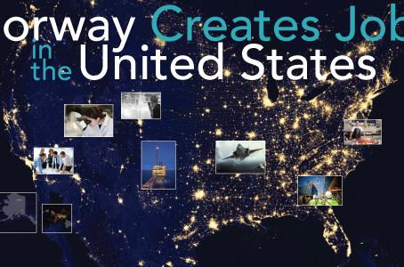 Norway Creates Jobs in the U.S.: Embassy Report