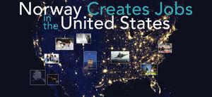 Norway Creates Jobs in the U S : Embassy Report
