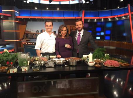 Blenheim Restaurant's cooking segment on Good Day New York