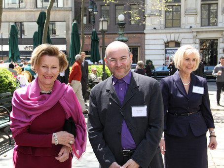 HM Queen Sonja received the Nora Award for Women of Achievement, on April 25, 2013