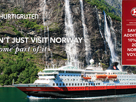 Special offer to NACC members from Hurtigruten