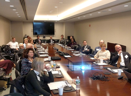 NACC and Curtis, Mallet-Prevost, Colt & Mosle Hosted a Breakfast Seminar on Copyright on October 25