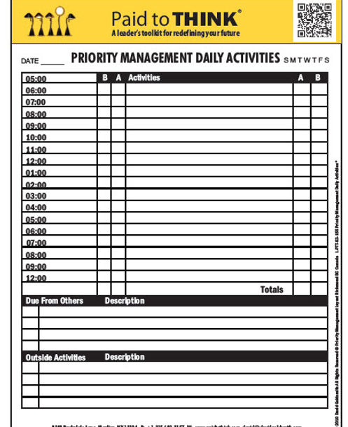 2018-08-21 Priority Management Daily Act