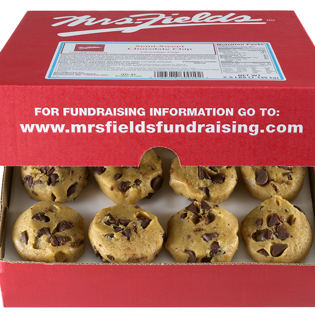 Mrs. Fields Cookie Fundraiser