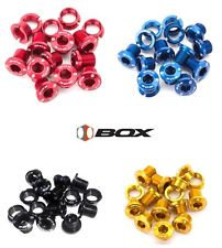 BOX ALLOY CHAIN RING BOLTS KIT ( Pick Your Color )