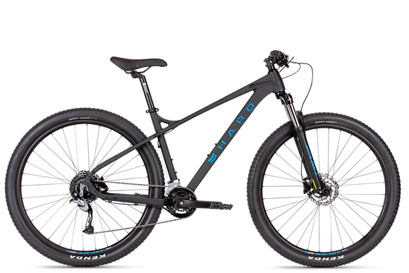 2021 HARO DOUBLE PEAK TRAIL 29ER BLACK