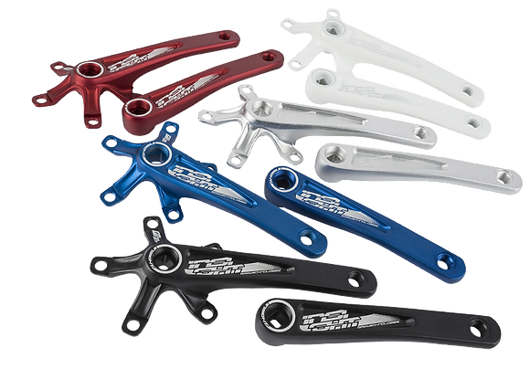 INSIGHT SQUARED AXLE CRANK ARMS ( Pick Your Size & Color )