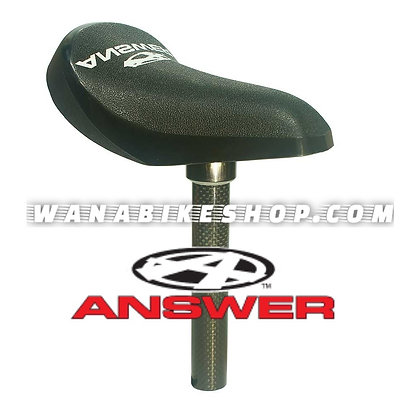 Answer Bmx Carbon Mini Seat & Post 22.2mm