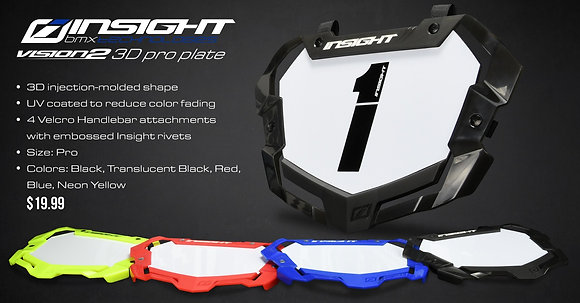 INSIGHT 3D VISION2 NUMBER PRO PLATE