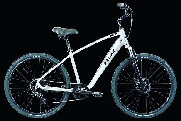 DelSol Flow 2 Comfort Bike Sliver