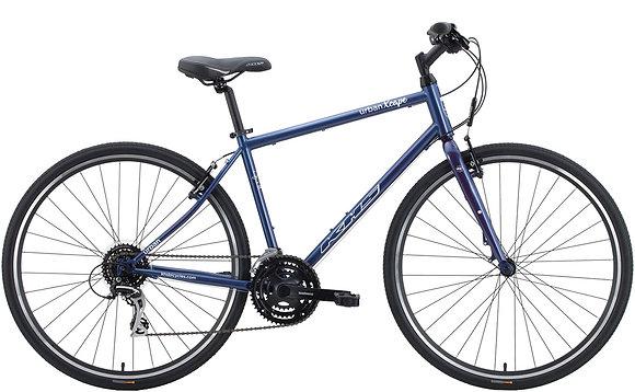 2020 KHS Urban Xcape Mens Hybrid Bike Matte Gray Blue