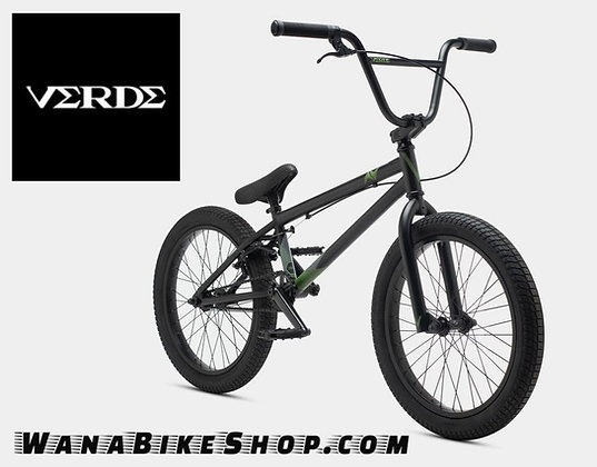 VERDE A/V BMX STREET BICYCLE - BLACK