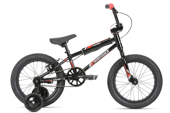 2020 Haro Shredder 16 Boys Coaster Brake Black