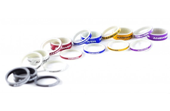 Answer Carbon Spacers ( Pick Your Size & Color )
