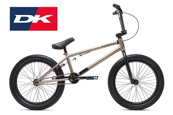 2021 DK CYGUS BMX 20 STREET BICYCLE- ZINC