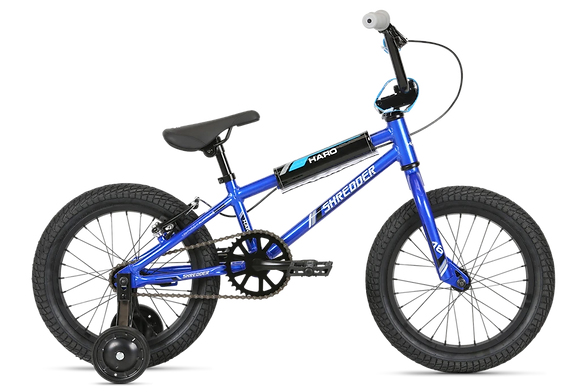 2020 Haro Shredder 16 Boys Coaster Brake Blue