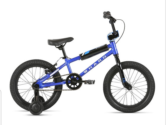 2021 HARO Shredder 16 Boys Bicycle Blue