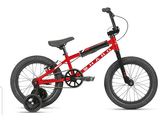 2021 HARO Shredder 16 Boys Bicycle Red