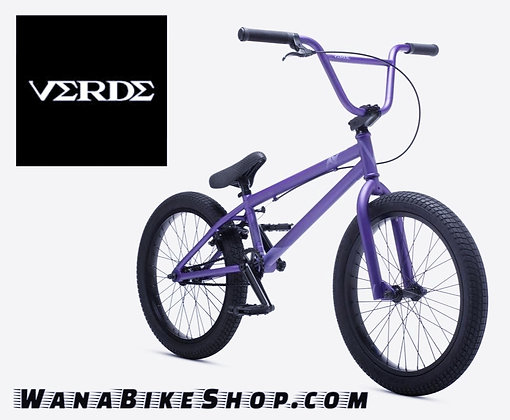 VERDE A/V BMX STREET BICYCLE PURPLE