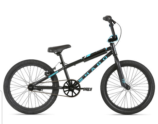 2021 HARO Shredder 20 Boys Bicycle Black