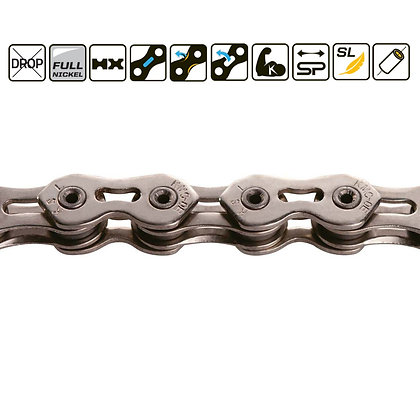 "KMC K1SL NARROW 3/32"" CHAIN  SILVER"